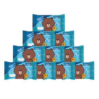 Kleenex 舒洁 湿厕纸 旅行装10片*10包