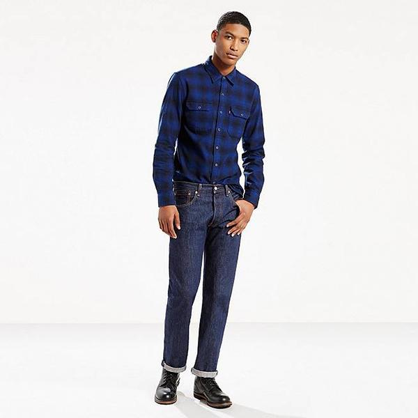 Levi's 李维斯 501系列 501-0115 ORIGINAL 男士直筒牛仔裤