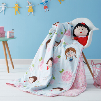 Dohia 多喜爱 樱桃小丸子系列 全棉空调被 1.2-1.8m床