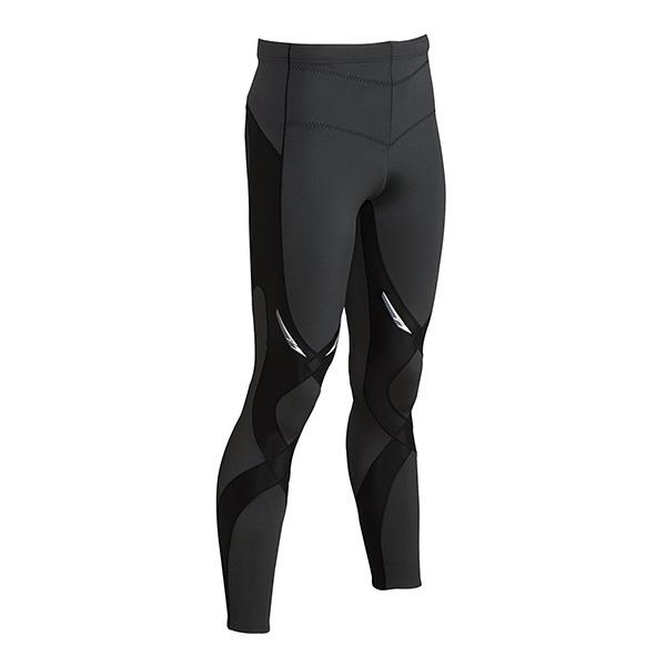 CW-X Stabilyx Tights 225809A 男款黑色运动紧身裤
