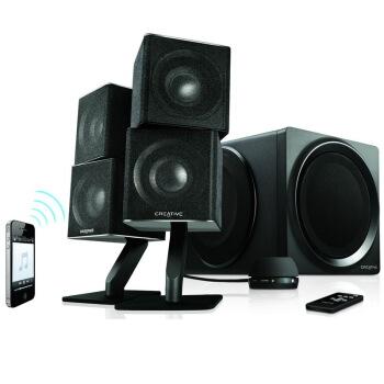 CREATIVE 创新 ZiiSound T6II 5.1环绕音效 家庭蓝牙音箱