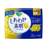 花王 乐而雅 laurier 素肌 40CM 夜用卫生巾 7片