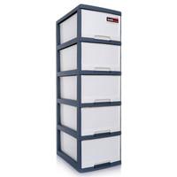京东PLUS会员:TENMA 天马 收纳柜 抽屉柜 5层 *2件 +凑单品