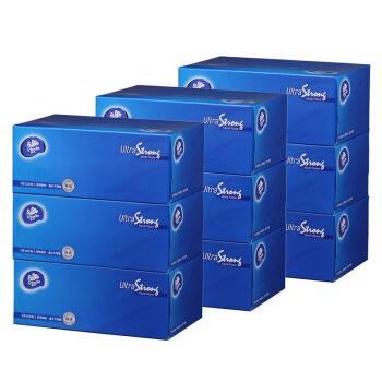 Vinda 维达 抽纸 超韧3层100抽盒装 9盒