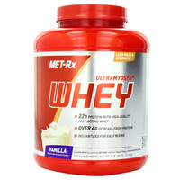 MET-RX 美瑞克斯 乳清蛋白粉 香草味 5磅