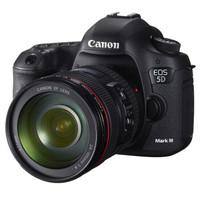 Canon 佳能 EOS 5D Mark III EF 24-105mm F/4L IS USM 镜头 单反套机