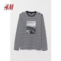 H&M 0738419 男装纯棉上衣
