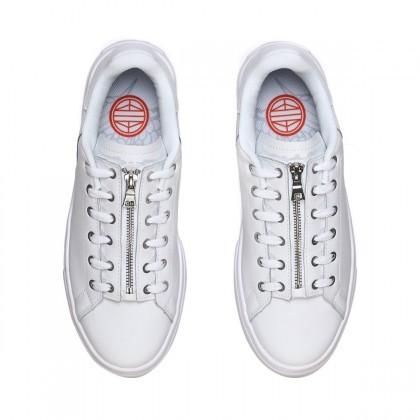 LI-NING 李宁 AGCN386-4 男款超轻小白鞋