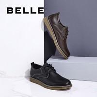 BeLLE 百丽 B3H10CM8 男士系带皮鞋