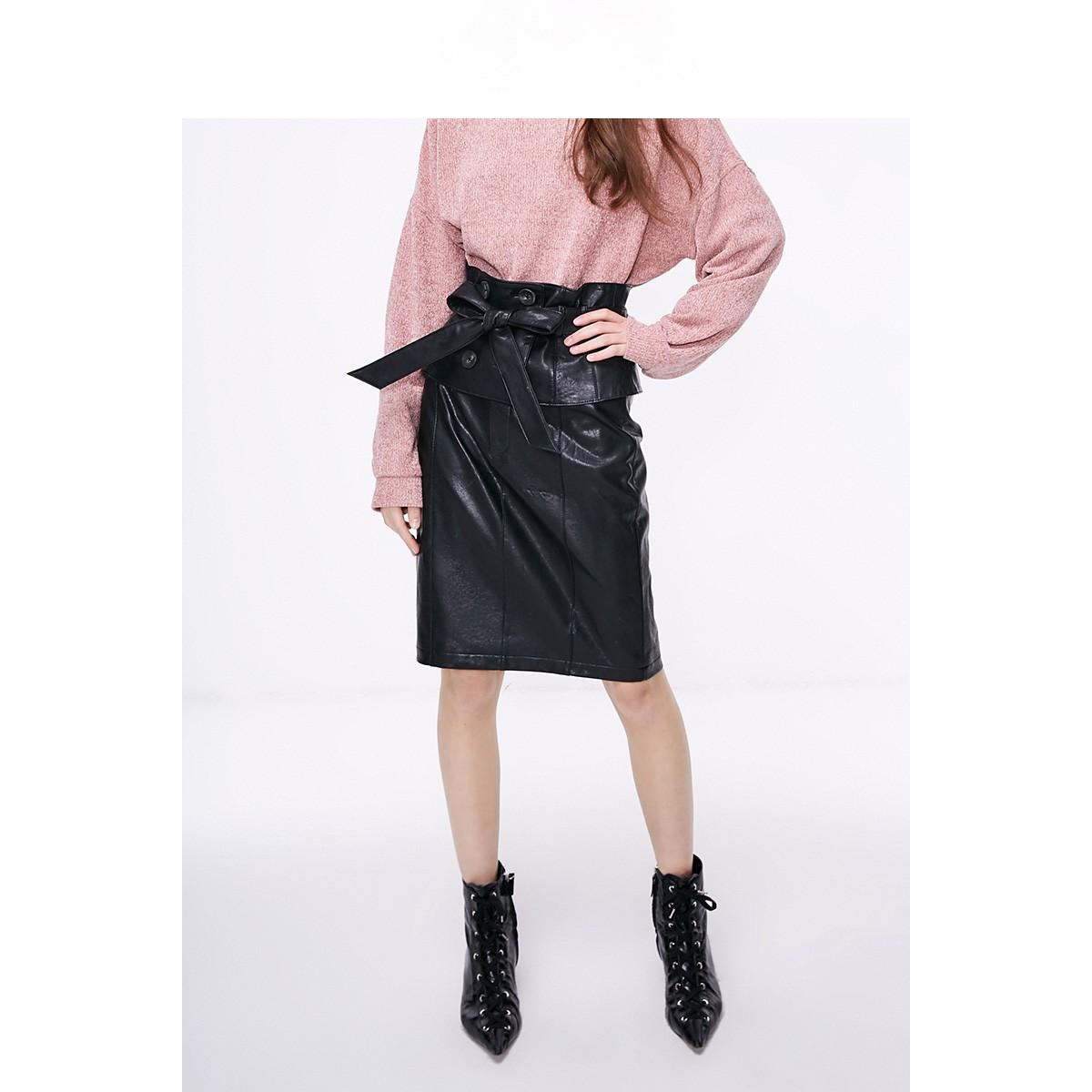 ONLY 11916S506 女士pu皮半身裙