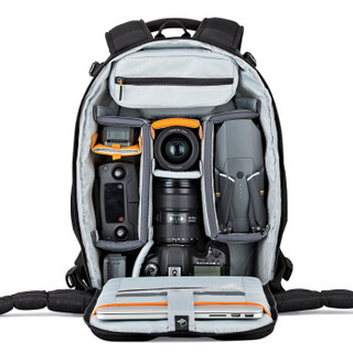 乐摄宝(Lowepro)相机包 Flipside 400AW II 可放笔记本 单反摄影包双肩 FS400AW 黑色 LP37129-PWW