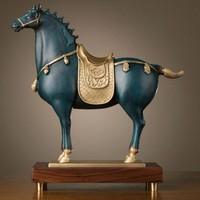 新品发售:铜师傅 皇家唐马铜制摆件