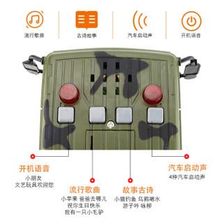 文艺(WENYI)男孩玩具儿童玩具惯性车1:16惯性导弹车W650D