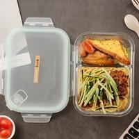 iCook 耐热玻璃分隔饭盒 1020ML
