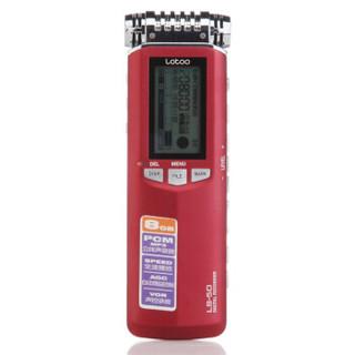乐图(lotoo) LS-50  8G  数字录音笔 专业广播级音频指标 高清降噪超长时间录音 远距离录音 红色