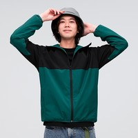 GU 极优 323037 男装防风连帽外套