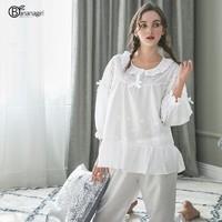 Bananagirl CM15089-1 刺绣蕾丝家居服套装 *3件