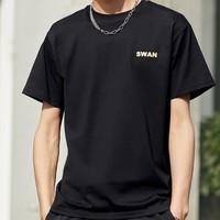 太平鸟男装  BWDAA2203 男士短袖T恤 *2件