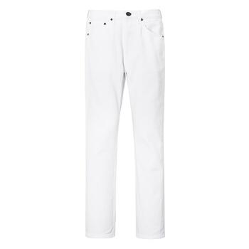 女士牛仔裤  白色