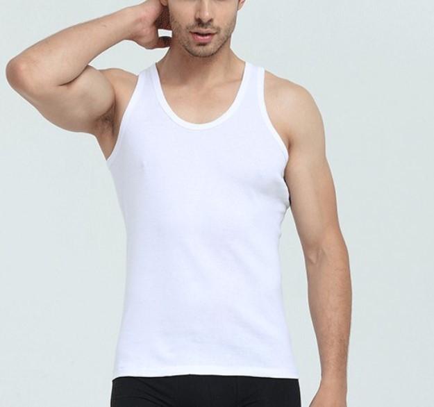 浪莎  L88999 男士纯棉背心 2件装