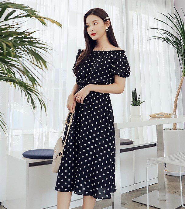 韩都衣舍 OM60290  女士连衣裙两件套