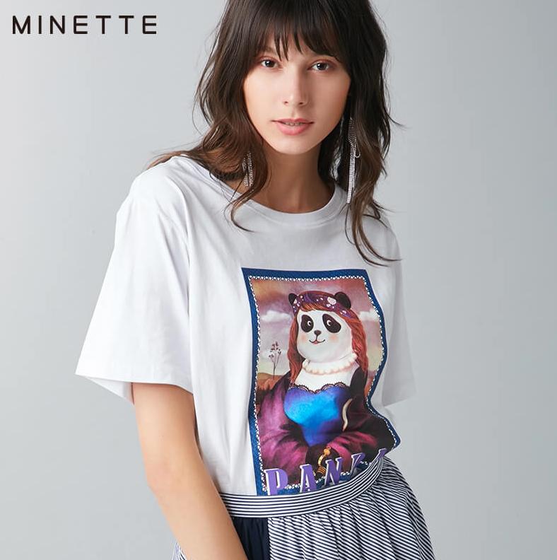 minette 30219001193 女士短袖T恤
