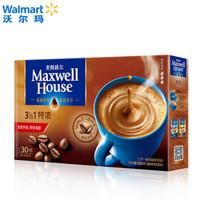 88VIP:Maxwell House 麦斯威尔 特浓三合一速溶咖啡 13g*30条 *5件
