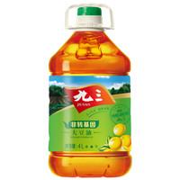 88VIP:九三 非转基因 三级 大豆油 4L *4件