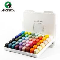 Marie's 马利 P-6054 果冻水粉颜料 54色