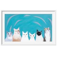 艺术品:《好朋友》吴英花|限量版画|70 x 41 cm