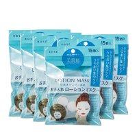 KOSE 高丝 化妆水纸膜 15粒*6包