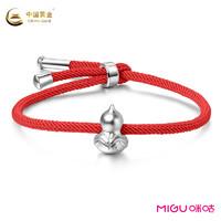 China Gold 中国黄金 葫芦兄弟系列 925银 简约手串
