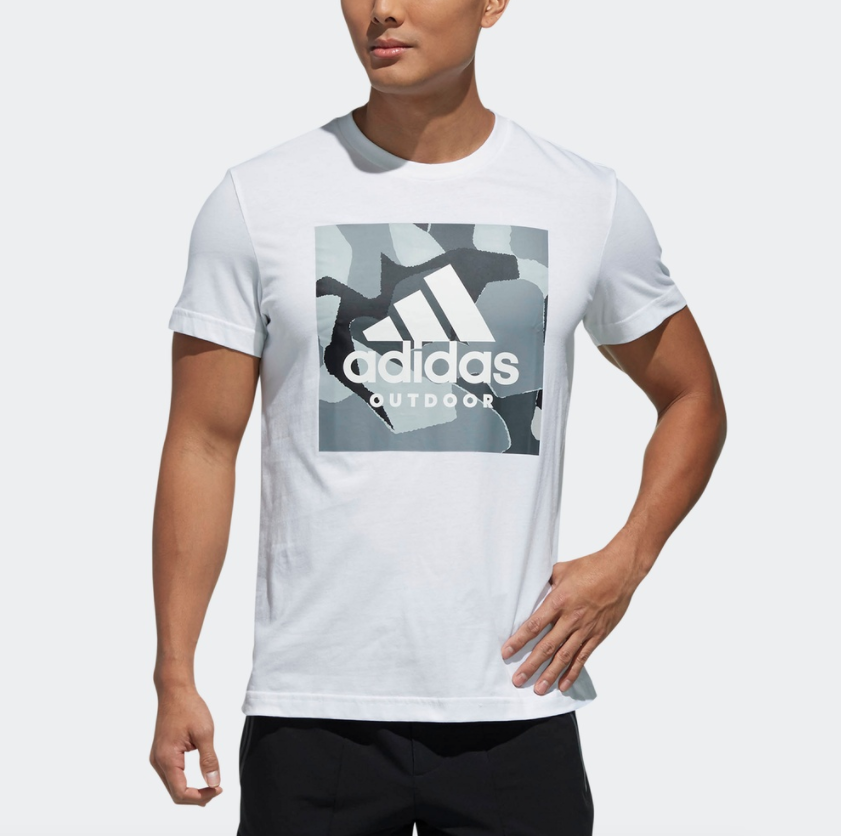 adidas FUV89 男士运动短袖T恤