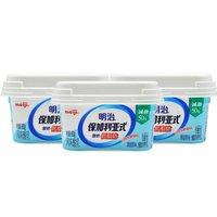 限地区:meiji 明治 低脂肪清甜原味 凝固型酸奶 180g*3盒 *15件