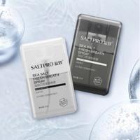 SALTPRO 盐致 语录款口气清新剂 17ml*2瓶装 赠牙膏30g