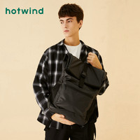 hotwind 热风 B52M9703 男士搭扣双肩包