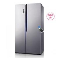 Ronshen 容声 BCD-646WD11HPA 646升 对开门冰箱