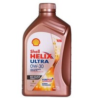 Shell 壳牌 金装 超凡喜力 Helix Ultra 0W-30 全合成机油 SN级 1L 2019款 *7件