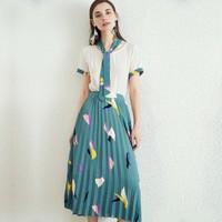 衣香丽影 99053591859 女士雪纺连衣裙套装