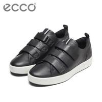 京东PLUS会员:ECCO 爱步 柔酷8号 440514 男士牛仔板鞋