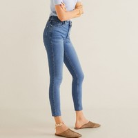 MANGO 53070671 女士低腰牛仔裤