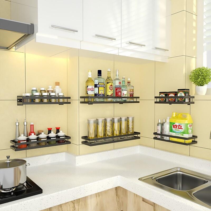 普拉度 厨房调味置物架 免打孔 20cm