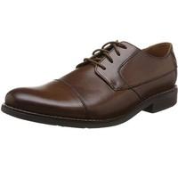 中亚Prime会员、限尺码:Clarks Becken Cap 26123138 男士系带皮鞋