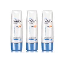 硬核补贴:Mistine AQUA多重防晒乳 SPF50 PA+++ 70ml*3