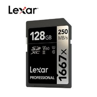 Lexar 雷克沙 1667X PRO版 SD存储卡 128GB