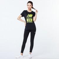 限尺码:New Balance 新百伦 AWT81569-BK 女款透气纯棉T恤