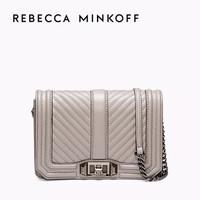 Rebecca Minkoff CHEVRON QUILTED LOVE单肩斜挎牛皮女包