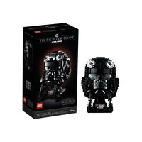 考拉海购黑卡会员:LEGO 乐高 星球大战系列 75274 钛战斗机飞行员头盔