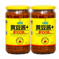 欣和 葱伴侣黄豆酱 900g*2瓶装