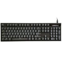 历史低价:Varmilo 阿米洛 VA104C-S 104键 计算器透光版本 机械键盘 Cherry轴